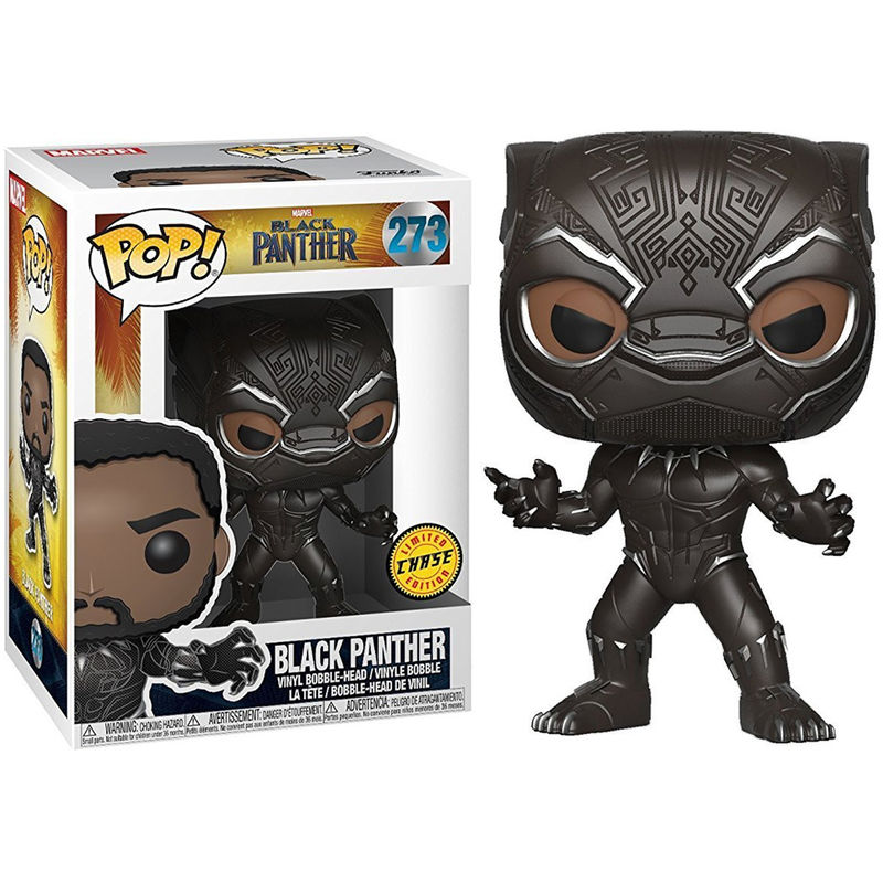 Photo du produit  FUNKO POP! MARVEL BLACK PANTHER CHASE EXCLUSIVE