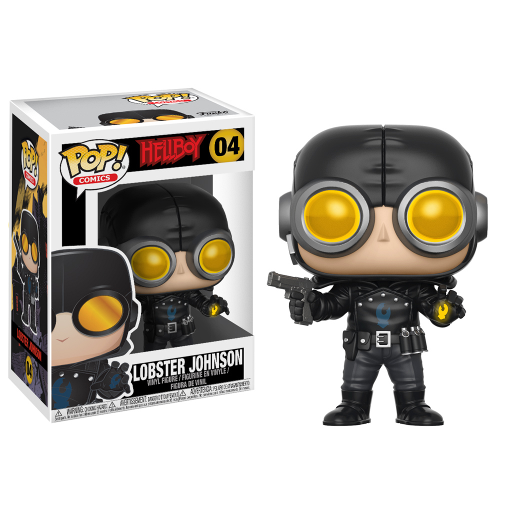 Photo du produit HELLBOY FIGURINE FUNKO POP LOBSTER JOHNSON