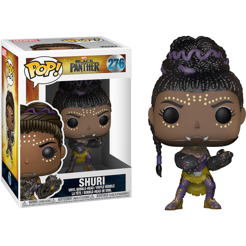 Photo du produit FUNKO POP MARVEL BLACK PANTHER SHURI
