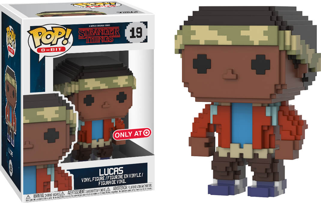 Photo du produit FUNKO POP STRANGER THINGS LUCAS 8-BIT