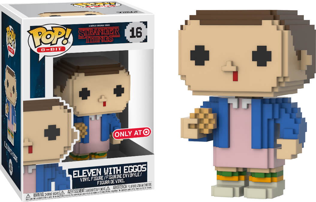 Photo du produit FUNKO POP! 8 BIT STRANGER THINGS ELEVEN EXCLUSIVE