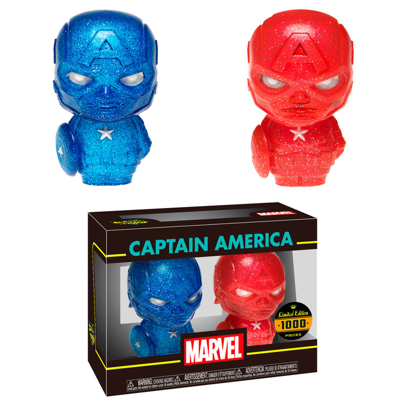 Photo du produit PACK 2 FIGURINES HIKARI MARVEL CAPITAN AMERICA EDITION LIMITEE