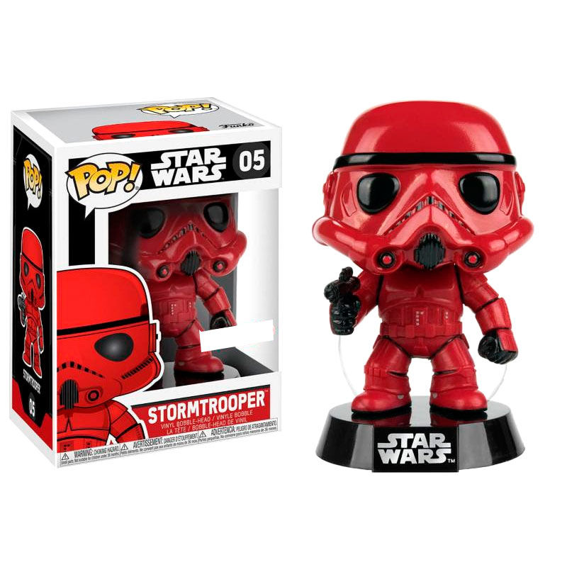 Photo du produit FIGURINE FUNKO POP STAR WARS RED STORMTROOPER EXCLUSIVE