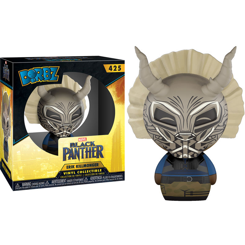 Photo du produit FIGURINE FUNKO DORBZ MARVEL BLACK PANTHER KILLMONGER