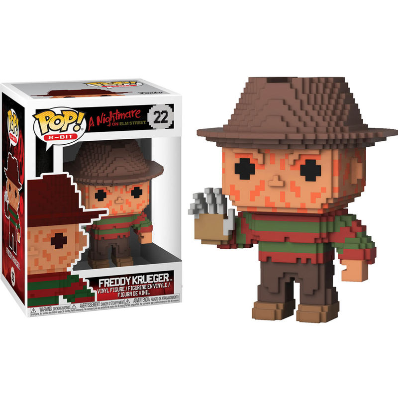 Photo du produit FUNKO POP NIGHTMARE ON ELM STREET 8-BIT FREDDY KRUEGER