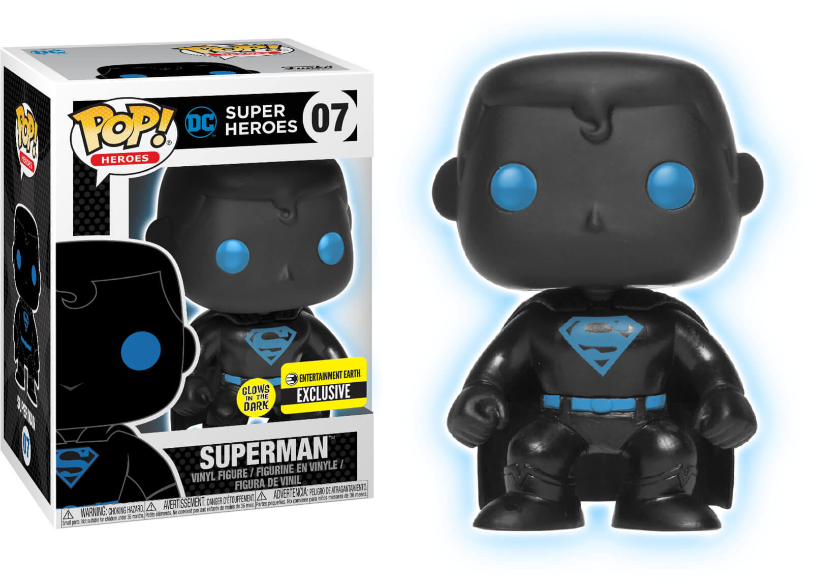 Photo du produit FUNKO POP! JUSTICE LEAGUE SUPERMAN SILHOUETTE EXCLUSIVE