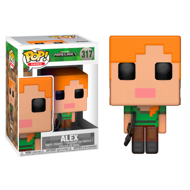 Photo du produit FUNKO POP MINECRAFT ALEX