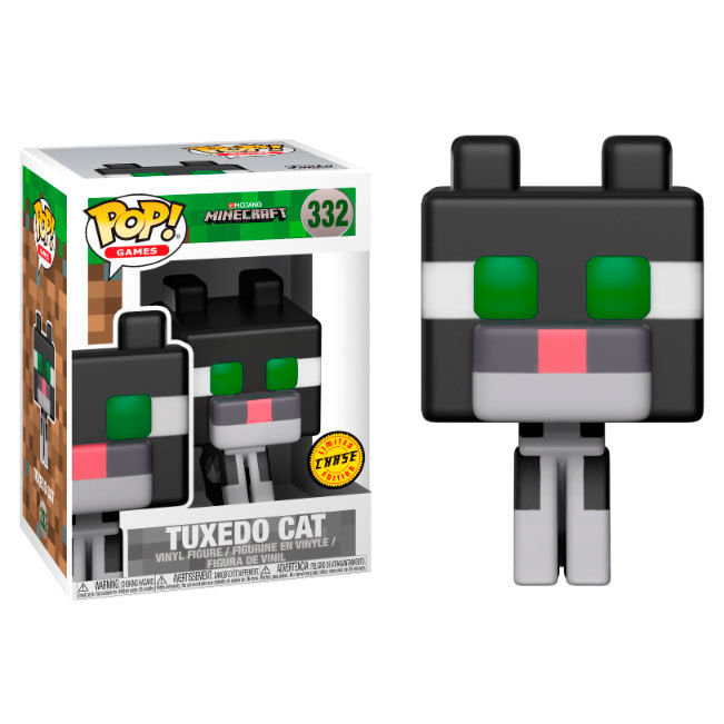 Photo du produit FUNKO POP MINECRAFT OCELOT CHASE EXCLUSIVE