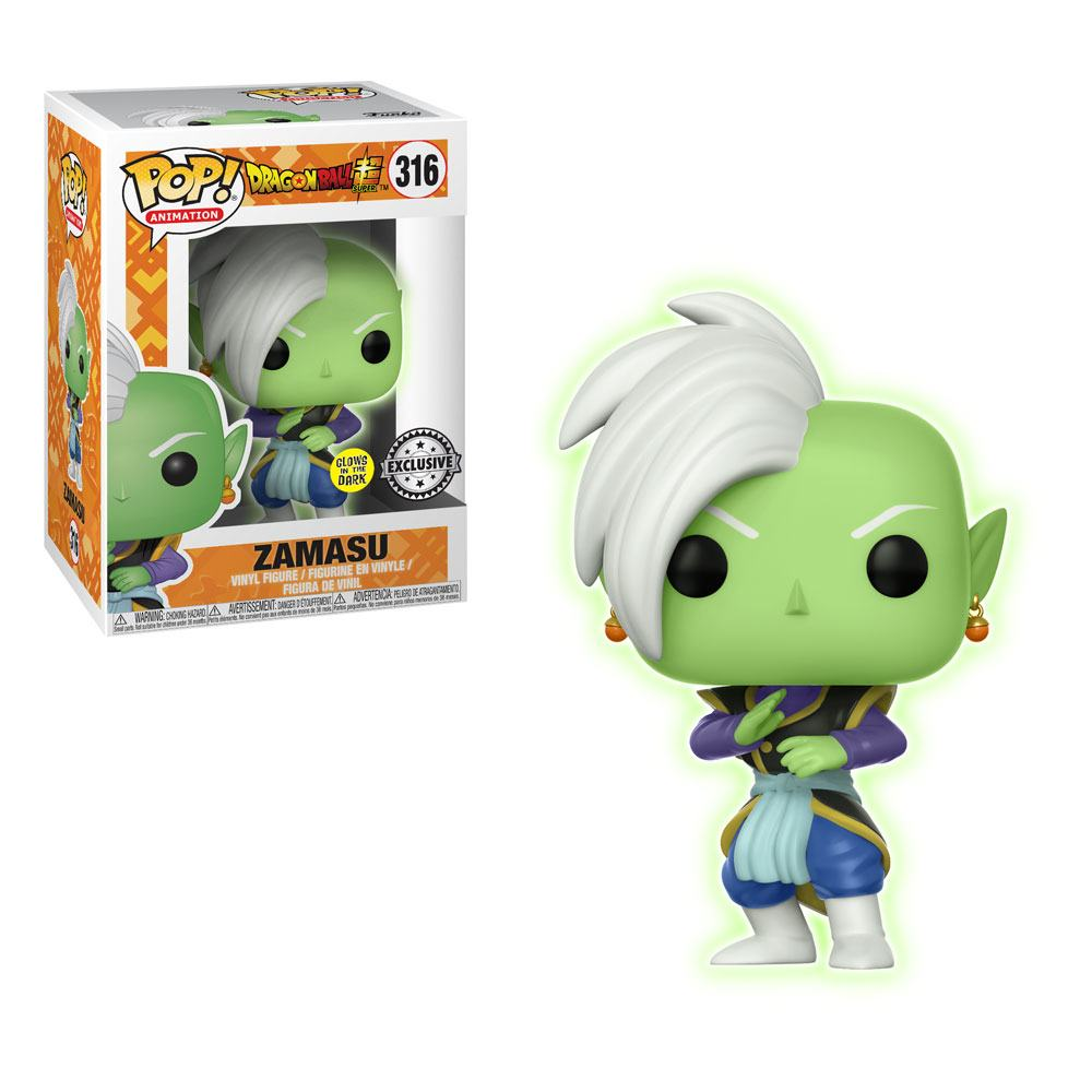 Photo du produit DRAGON BALL SUPER FUNKO POP! ZAMASU (GLOW IN THE DARK) EXCLUSIVE