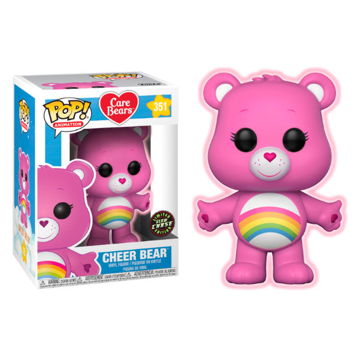 Photo du produit FIGURINE FUNKO POP CARE BEARS CHEER BEAR VERSION CHASE EXCLUSIVE