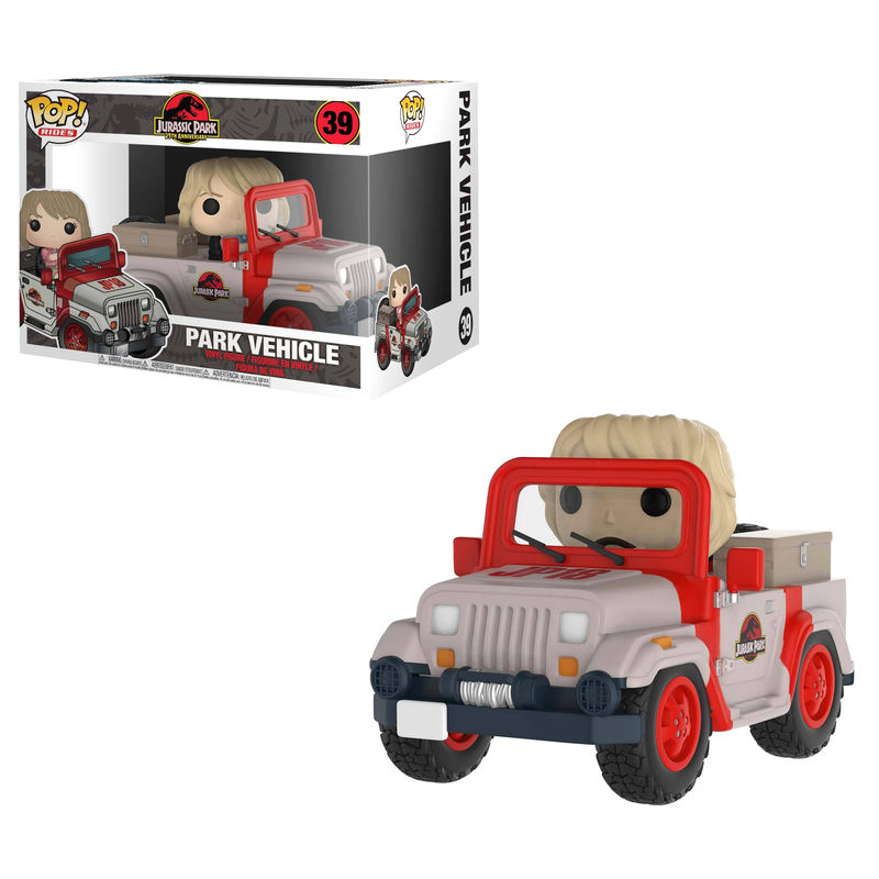 Photo du produit FUNKO POP JURASSIC PARK VEHICLE