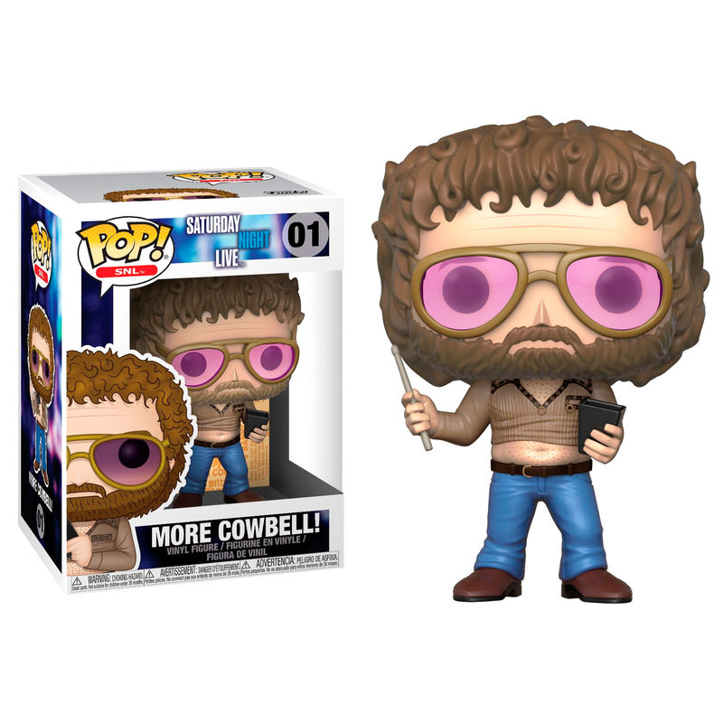 Photo du produit FUNKO POP SATURDAY NIGHT LIVE GENE FRENKLE MORE COWBELL