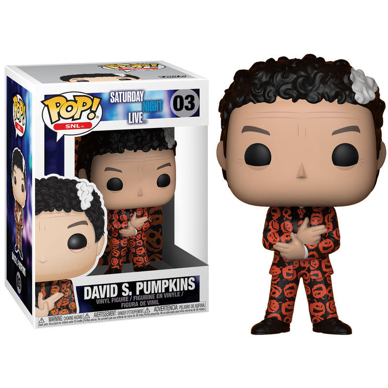 Photo du produit FIGURINE FUNKO POP SATURDAY NIGHT LIVE FIGURINE FUNKO POP SATURDAY NIGHT LIVE DAVID S. PUMPKINS