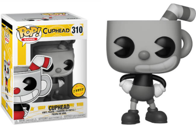 Photo du produit FUNKO POP CUPHEAD VERSION CHASE EXCLUSIVE