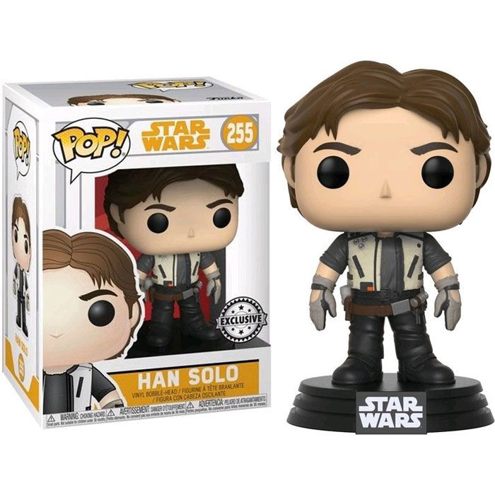 Photo du produit STAR WARS SOLO POP! BOBBLE HEAD HAN SOLO