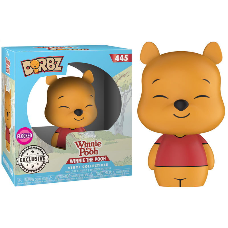 Photo du produit FUNKO DORBZ DISNEY WINNIE THE POOH FLOCKED EXCLUSIVE