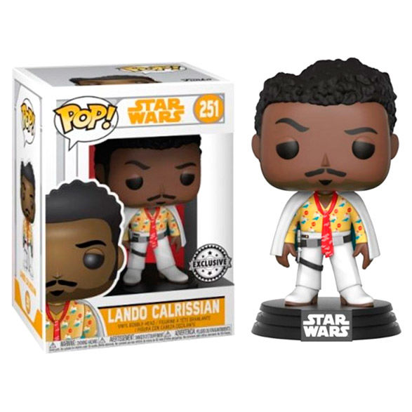 Photo du produit STAR WARS SOLO FUNKO POP! VINYL BOBBLE HEAD LANDO
