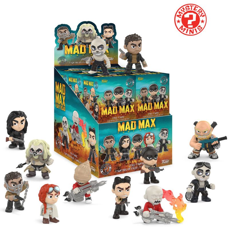 Photo du produit MYSTERY MINI MAD MAX FURY ROAD 12 FIGURINES + PRESENTOIR