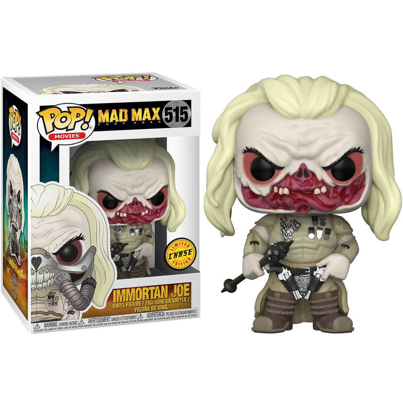 Photo du produit FUNKO POP MAD MAX FURY ROAD IMMORTAN JOE CHASE EXCLUSIVE