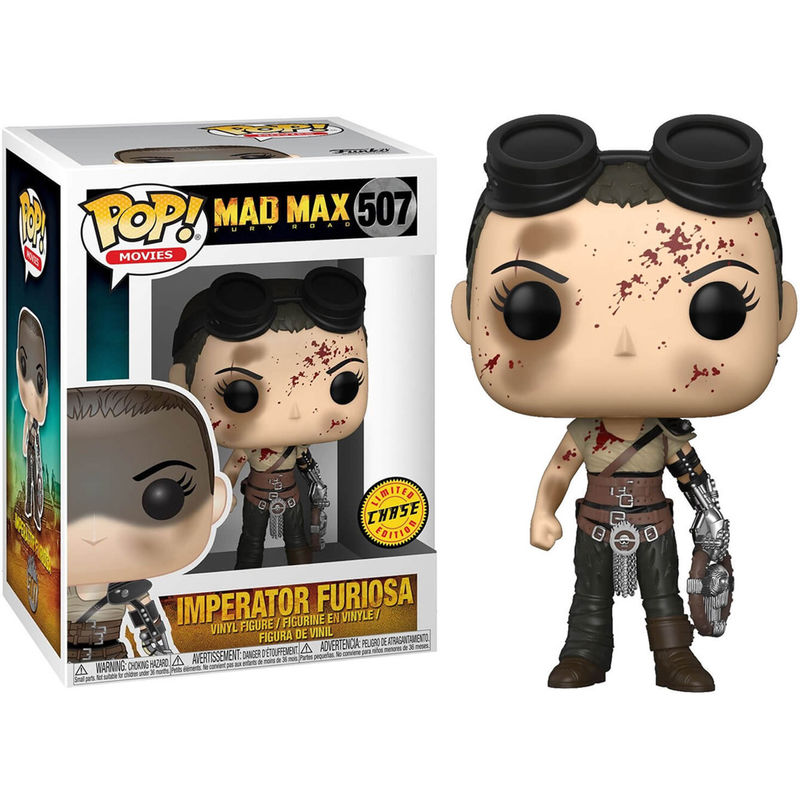 Photo du produit FUNKO POP MAD MAX FURY ROAD FURIOSA CHASE EXCLUSIVE