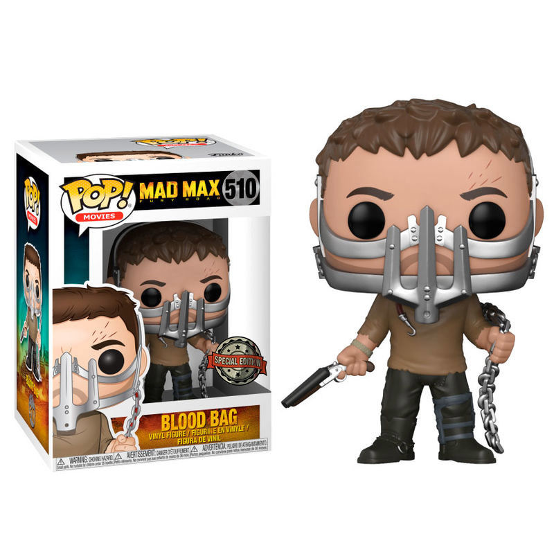 Photo du produit FUNKO POP MAD MAX FURY ROAD BLOOD BAG EXCLUSIVE