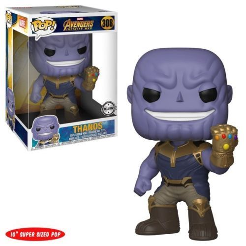 "Photo du produit  FUNKO POP! MARVEL AVENGERS INFINITY WAR 10"" THANOS"
