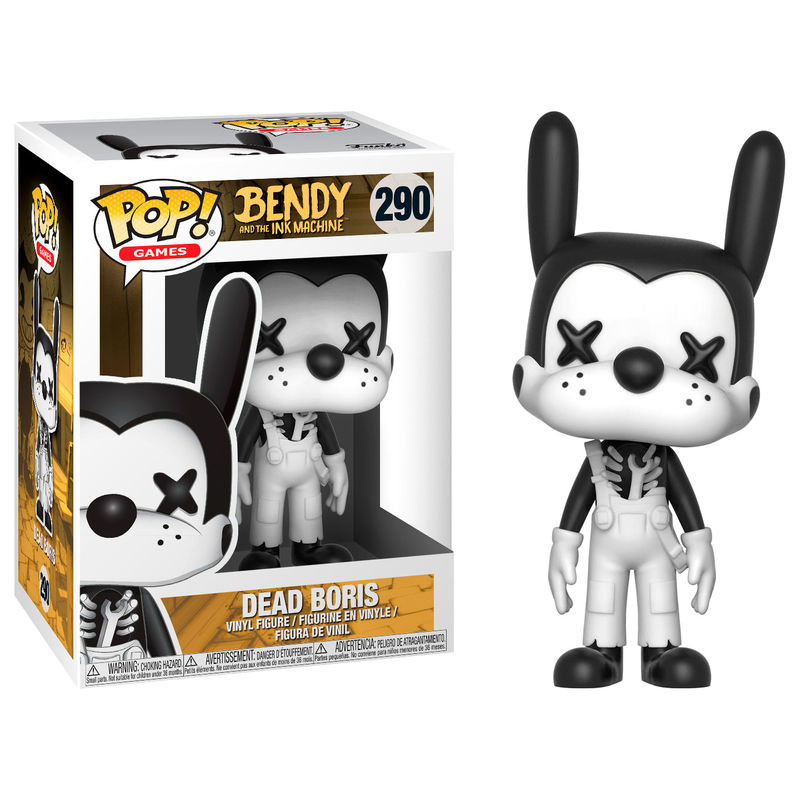 Photo du produit FIGURINE FUNKO POP BENDY AND THE INK MACHINE DEAD BORIS
