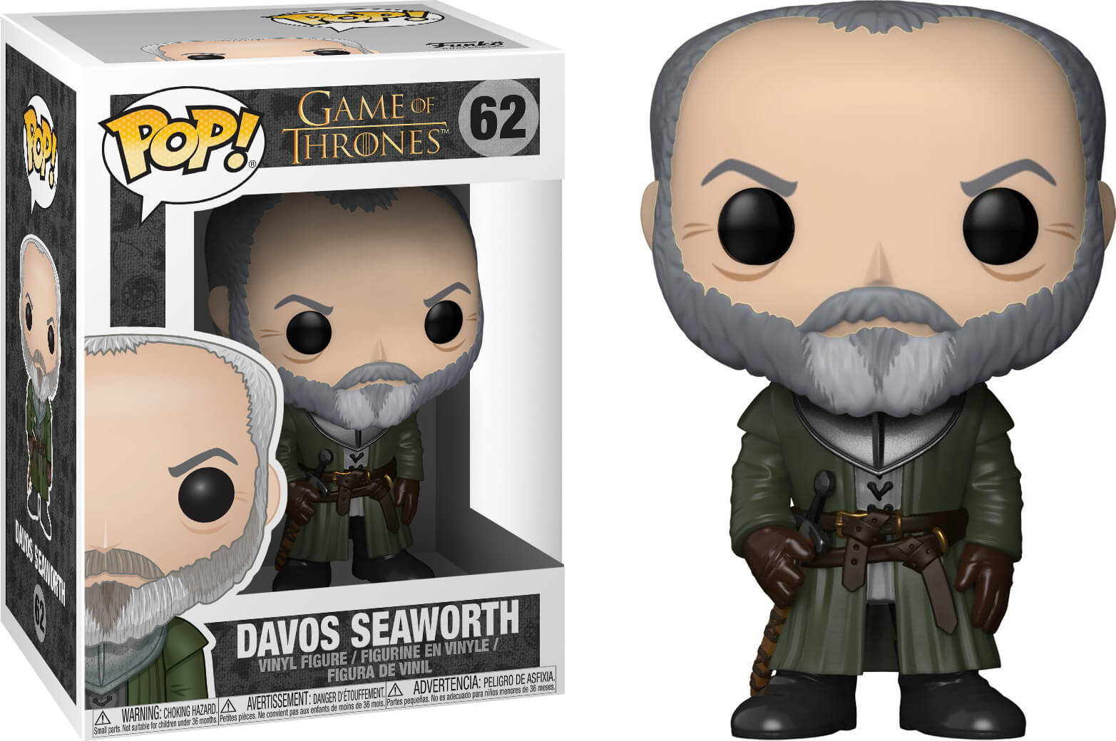 Photo du produit GAME OF THRONES FUNKO POP SER DAVOS SEAWORTH