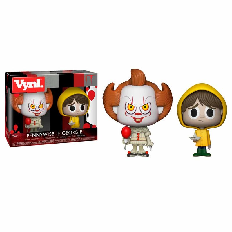 Photo du produit PACK 2 FIGURINES FUNKO VYNL IT PENNYWISE AND GEORGIE