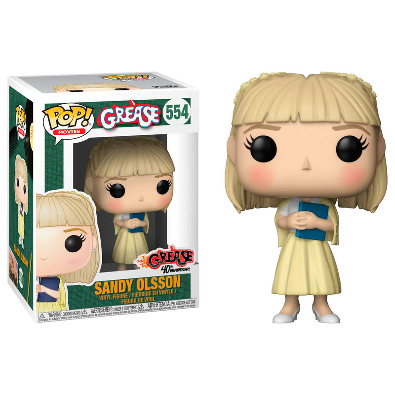 Photo du produit FIGURINE FUNKO POP GREASE SANDY OLSSON (EMBALLAGE ENDOMMAGÉ)