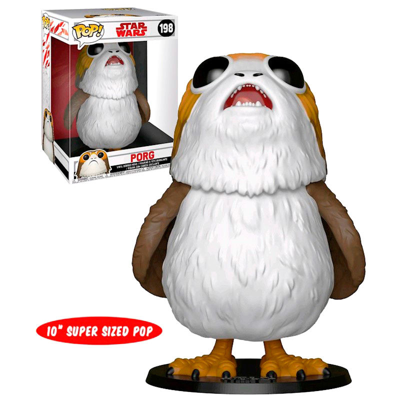 Photo du produit STAR WARS SUPER SIZED POP! VINYL FIGURINE PORG 25 CM