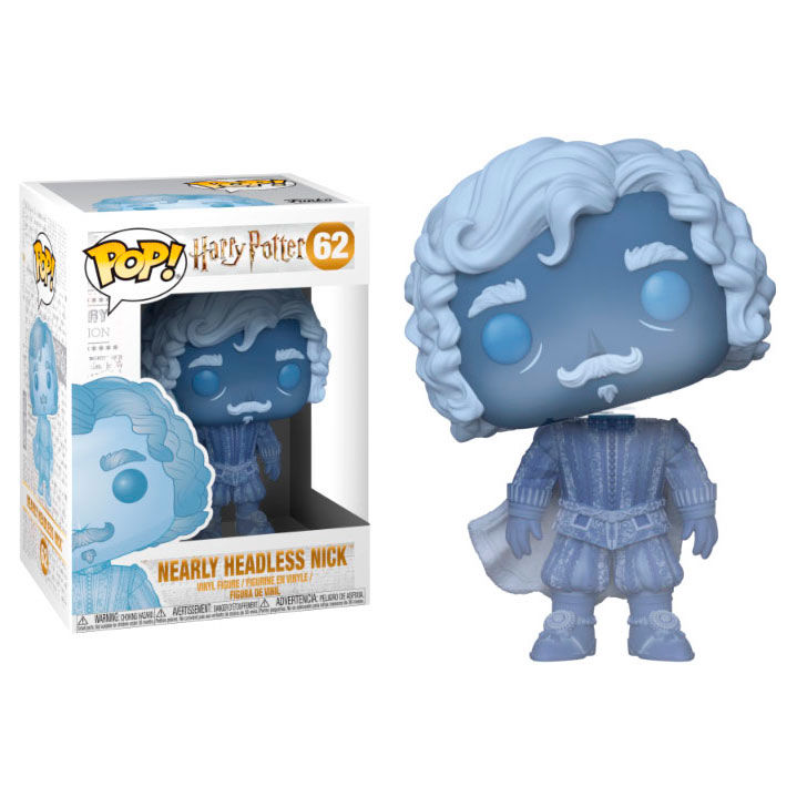 Photo du produit HARRY POTTER FUNKO POP NEARLY HEADLESS NICK (BLUE TRANSLUCENT)