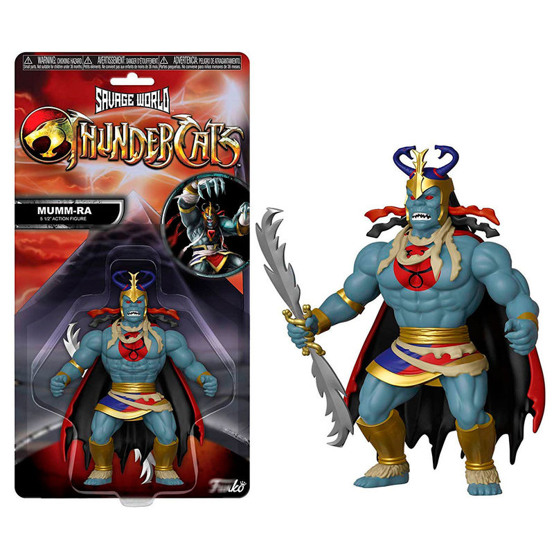 Photo du produit FIGURINE COSMOCATS SAVAGE WORLD MUMM-RA