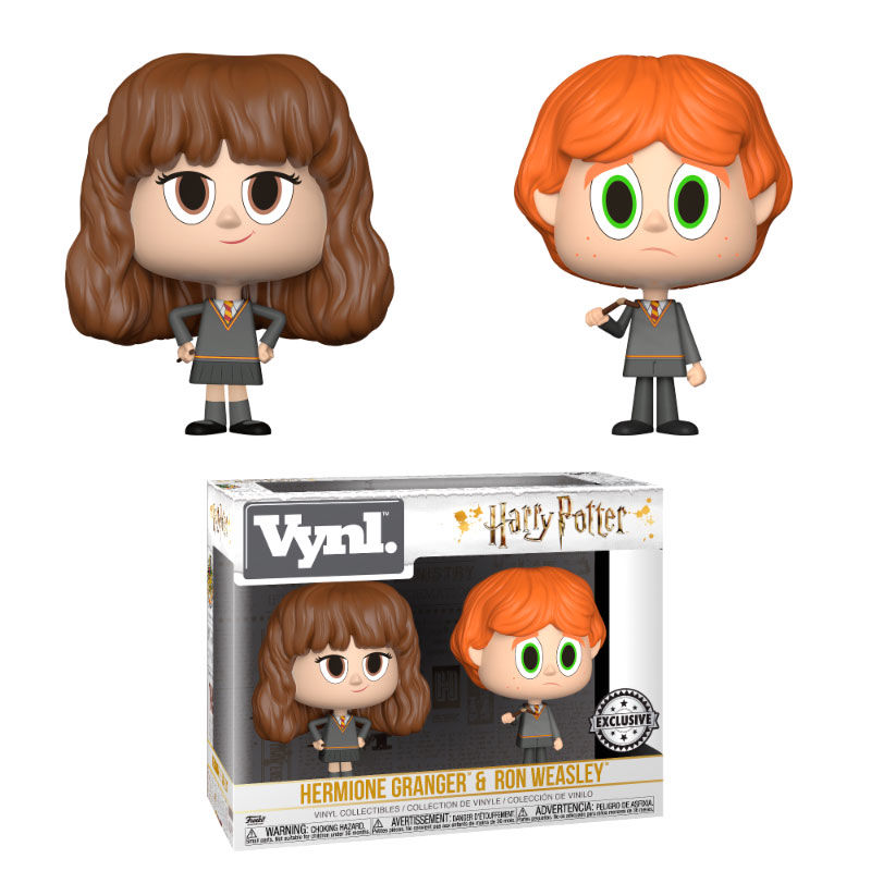Photo du produit FUNKO VYNL HARRY POTTER RON & HERMIONE BROKEN WAND EXCLUSIVE