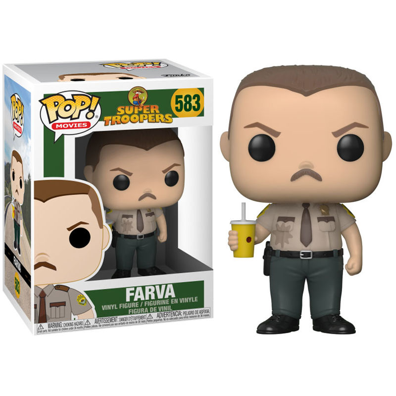 Photo du produit FUNKO POP SUPER TROOPERS FARVA