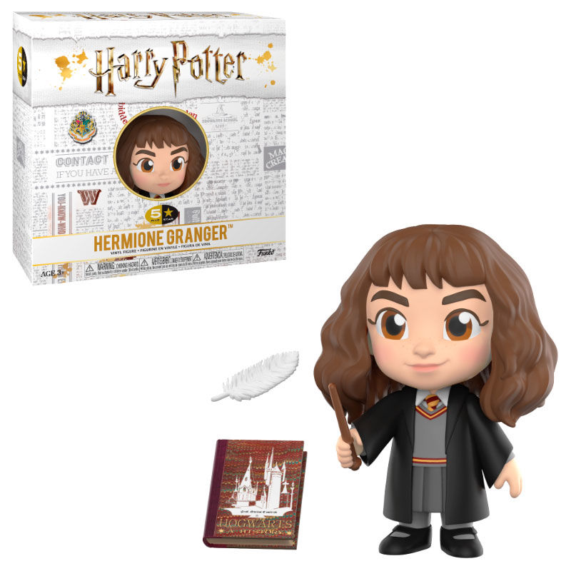 Photo du produit FIGURINE HARRY POTTER VINYL 5 STAR HERMIONE 8 CM
