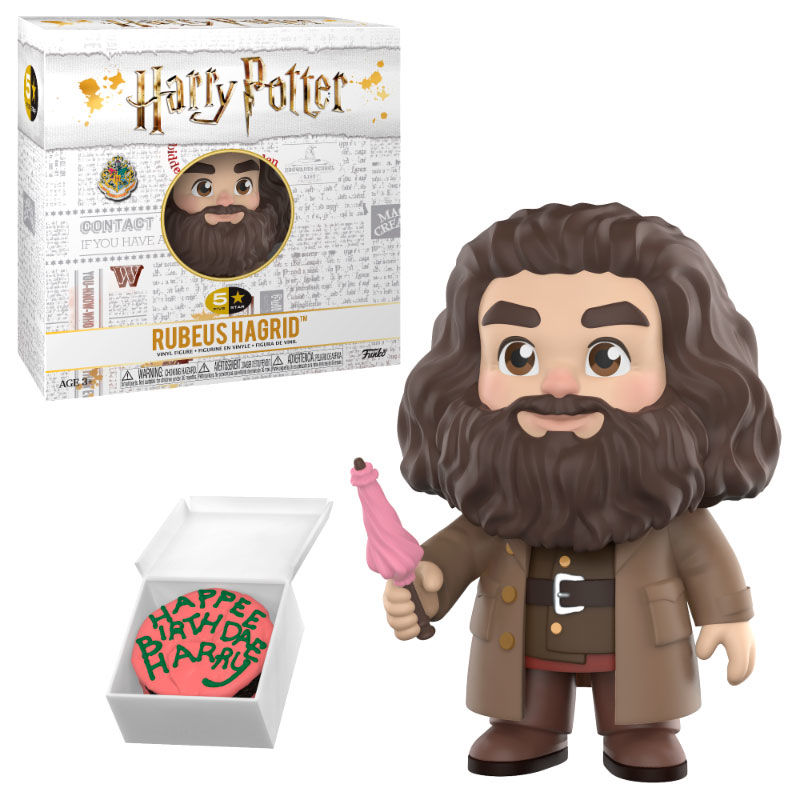 Photo du produit FIGURINE HARRY POTTER VINYL 5 STAR HAGRID 8 CM
