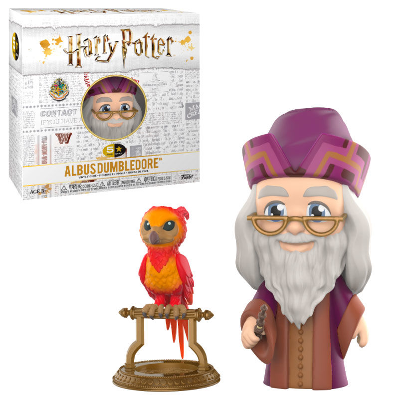 Photo du produit FIGURINE HARRY POTTER VINYL 5 STAR DUMBLEDORE 8 CM
