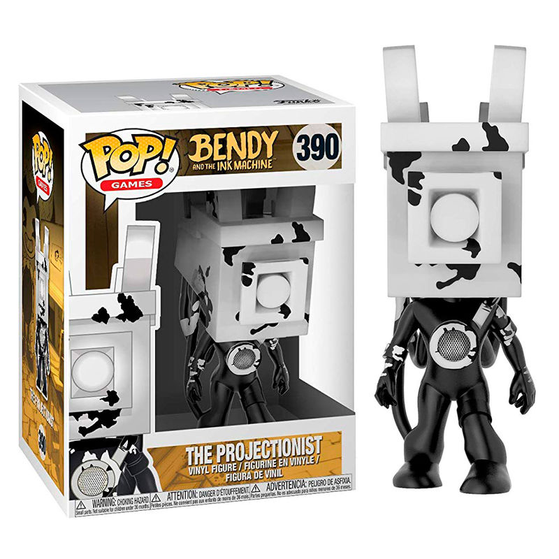 Photo du produit FUNKO POP BENDY & THE INK MACHINE THE PROJECTIONIST