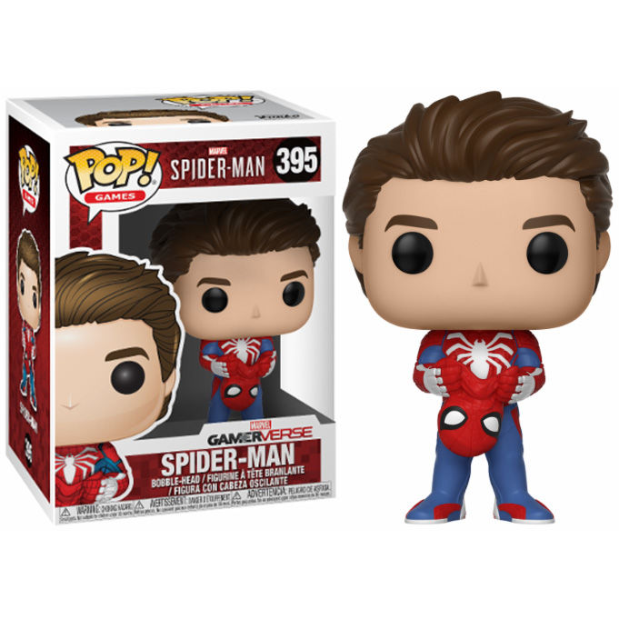 Photo du produit FIGURINE FUNKO POP MARVEL SPIDERMAN UNMASKED SPIDER-MAN