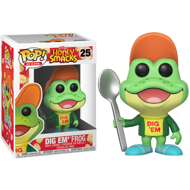 Photo du produit FUNKO POP KELLOGG'S HONEY SMACKS DIG EM FROG