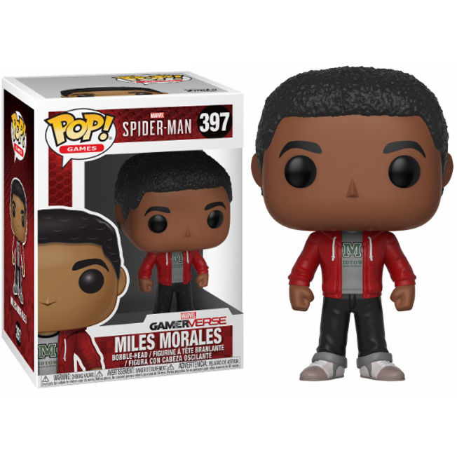 Photo du produit FIGURINE FUNKO POP MARVEL SPIDERMAN MILES MORALES