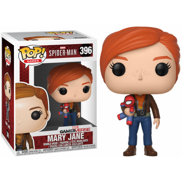 Photo du produit FIGURINE FUNKO POP MARVEL SPIDERMAN MARY JANE WITH PLUSH