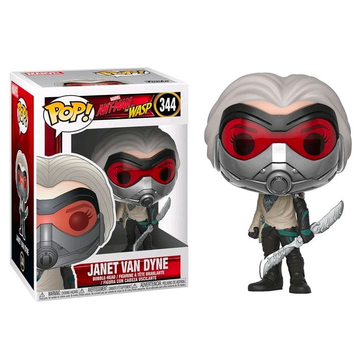 Photo du produit FUNKO POP MARVEL ANT-MAN & THE WASP JANET VAN DYNE