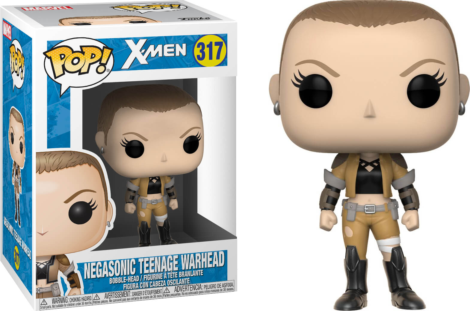 Photo du produit FUNKO POP MARVEL X-MEN NEGASONIC