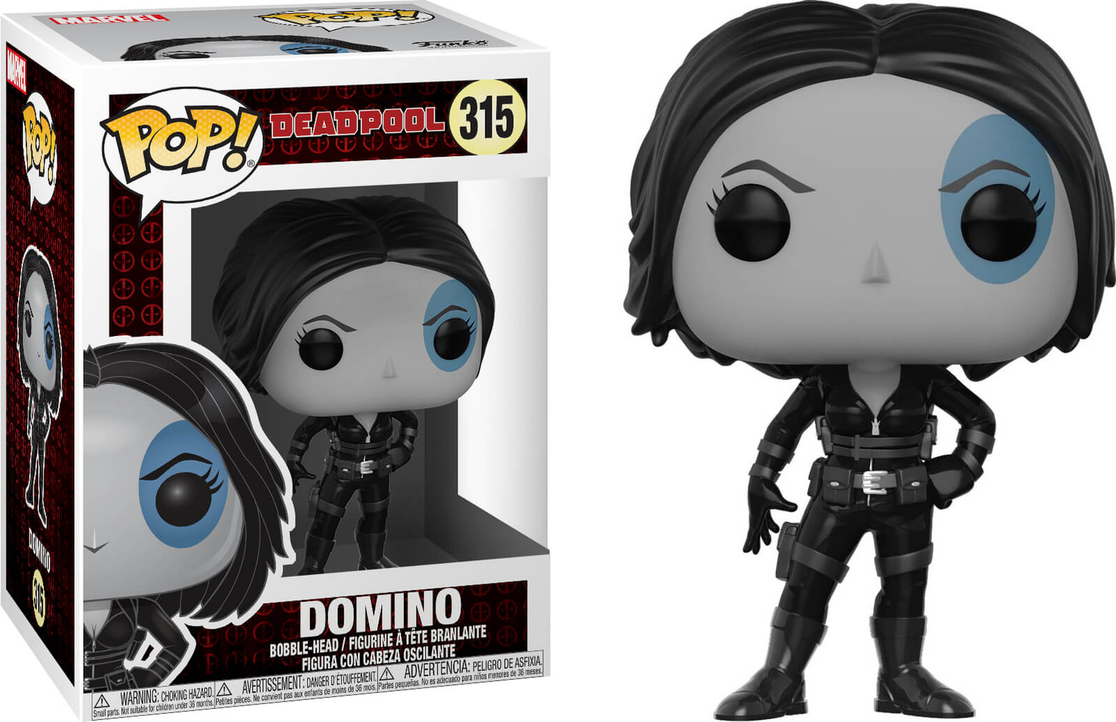Photo du produit FUNKO POP MARVEL DEADPOOL DOMINO