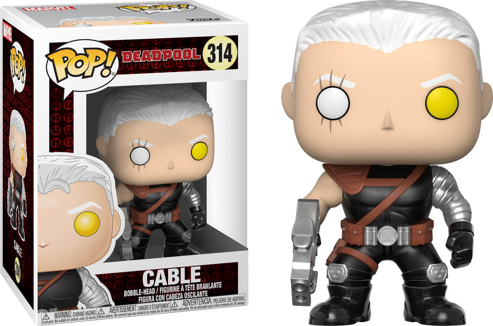 Photo du produit FUNKO POP MARVEL DEADPOOL CABLE