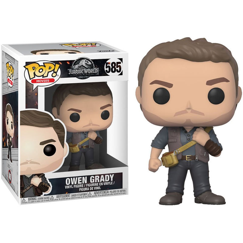 Photo du produit FIGURINE FUNKO POP JURASSIC WORLD FALLEN KINGDOM OWEN