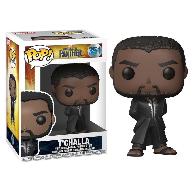 Photo du produit FUNKO POP MARVEL BLACK PANTHER ROBE BLACK