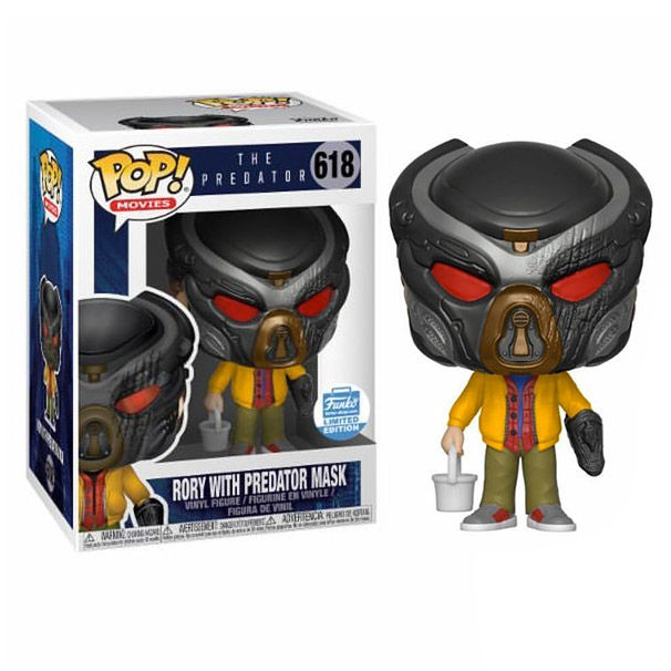 Photo du produit FUNKO POP THE PREDATOR RORY WITH PREDATOR MASK EXCLUSIVE
